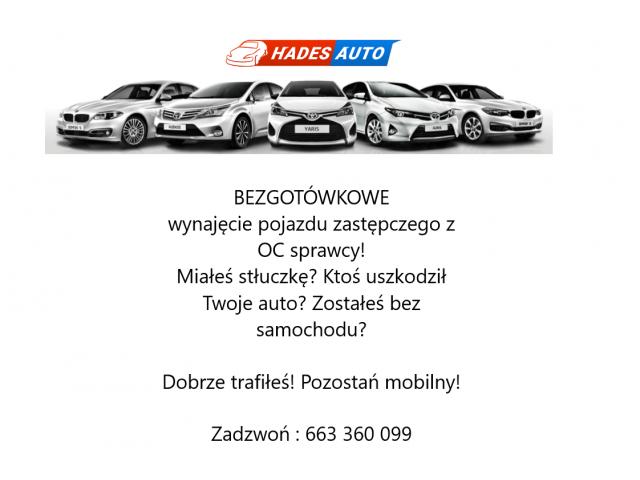 Wypożyczalnia samochodów HadesAuto Lubin zaprasza;)